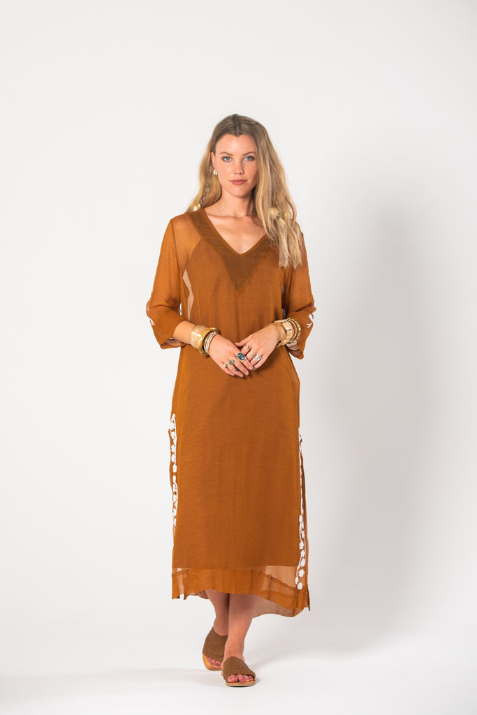 Thelma Tunic - Rust