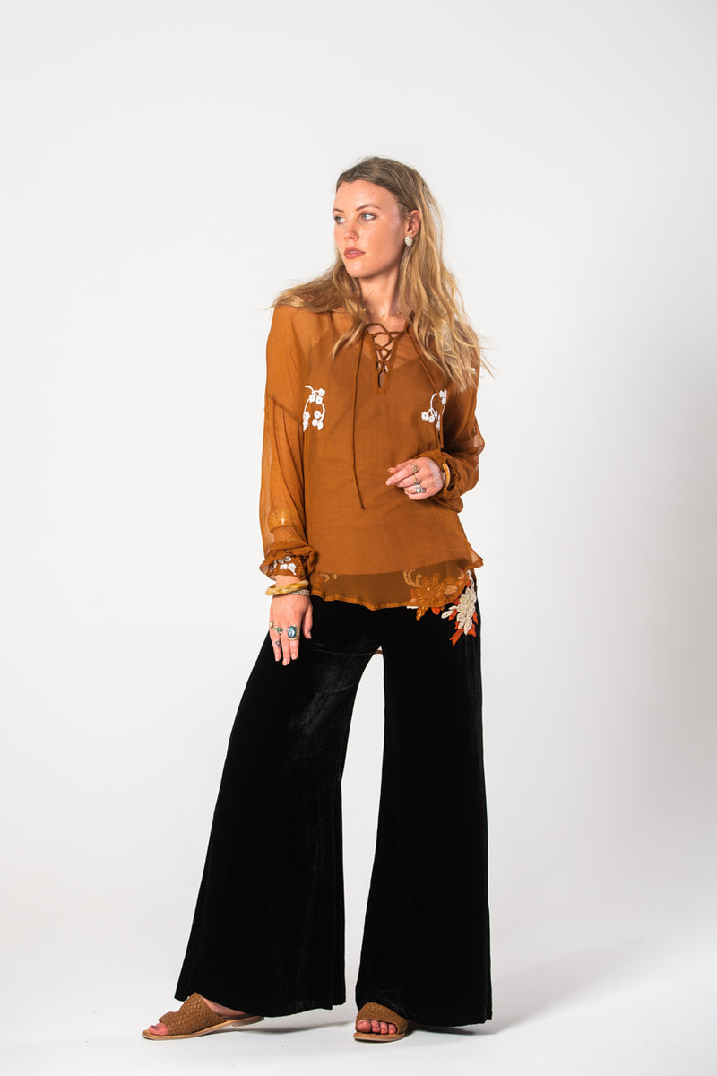 Thelma Shirt - Rust