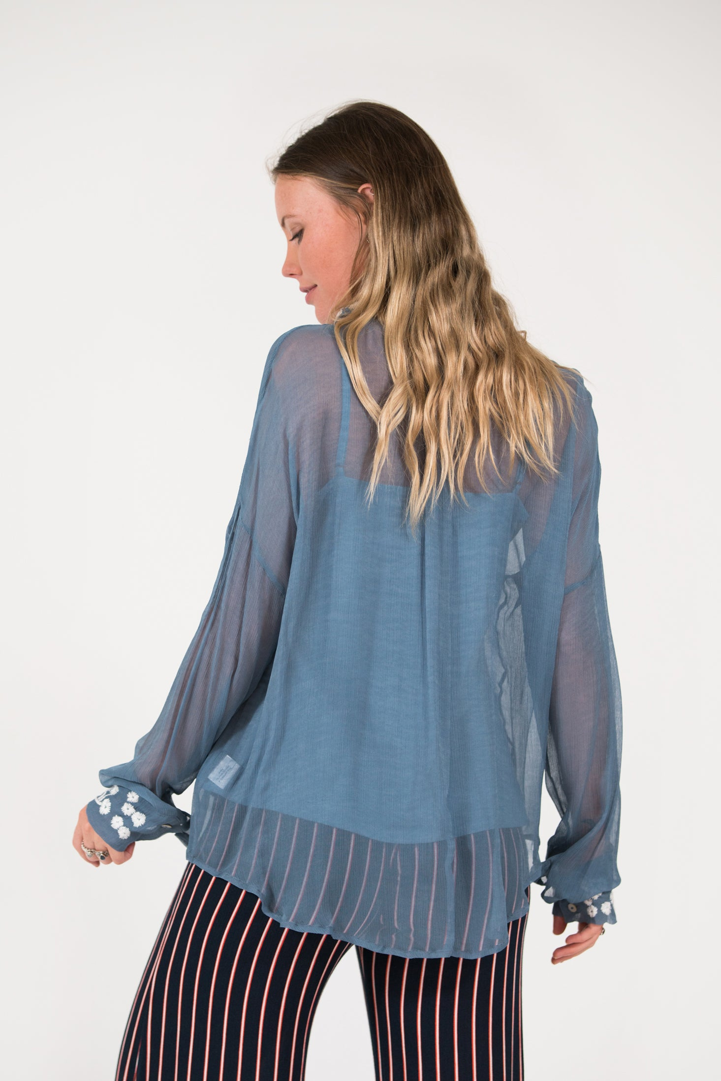 Thelma Shirt - Blue