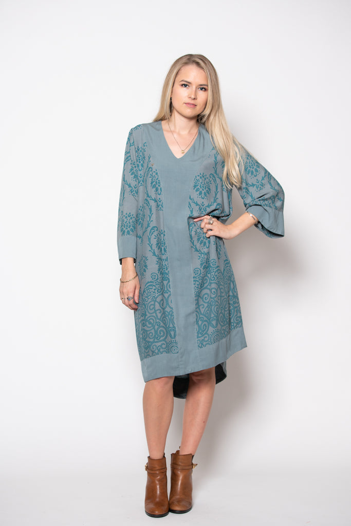 Bridget Dress - Filagree Ocean