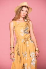 Isabella Dress - Australis Terracotta