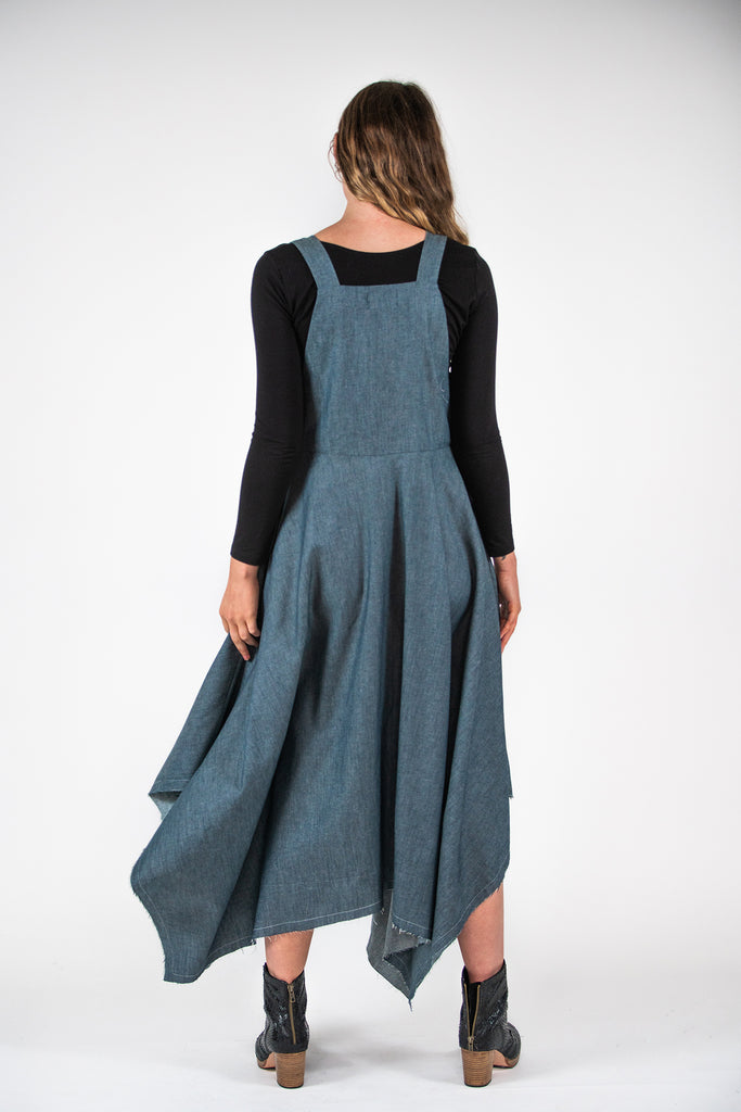 Billy Pinafore - Denim