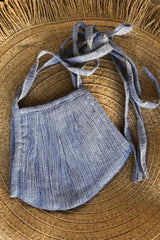Double Layer Mask - Stripe Print (Linen)