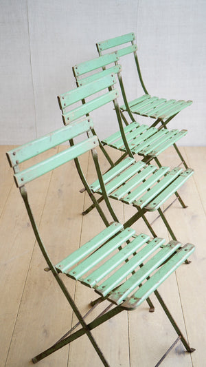 Green Festival Chairs