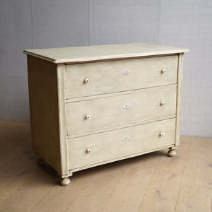 Painted 19c Commode