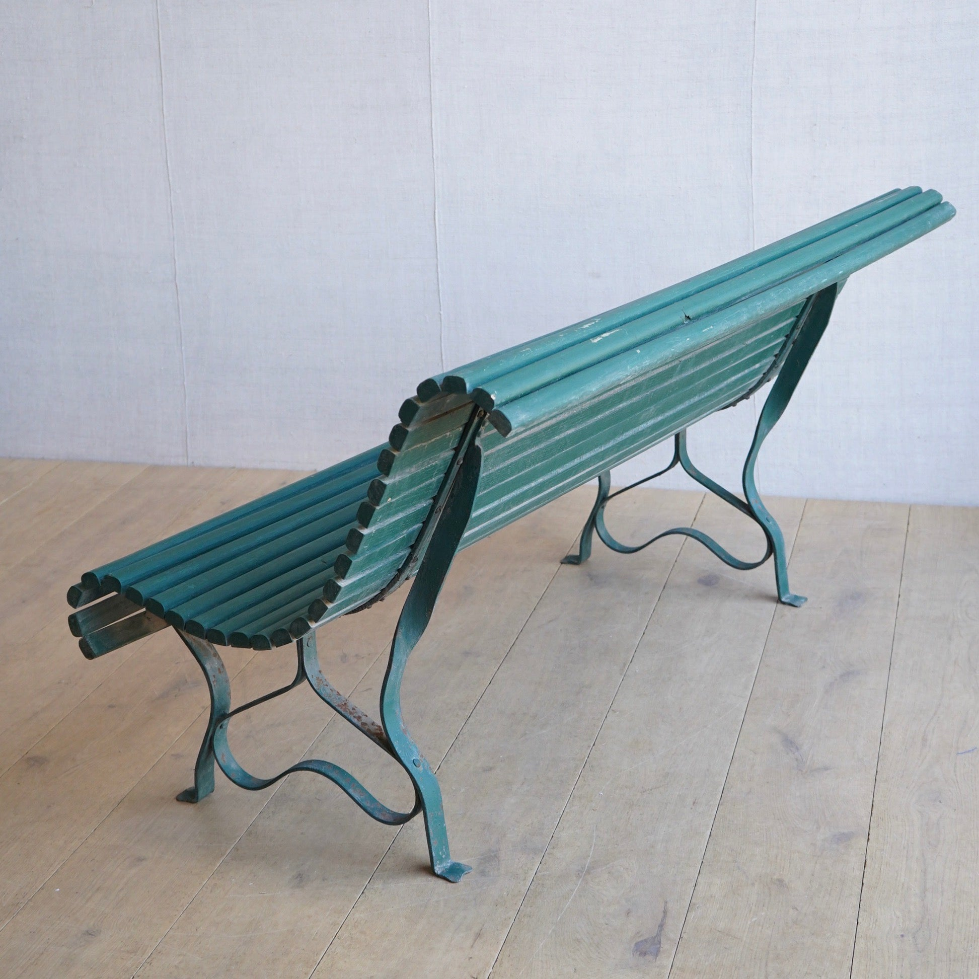 French Slatted Bench