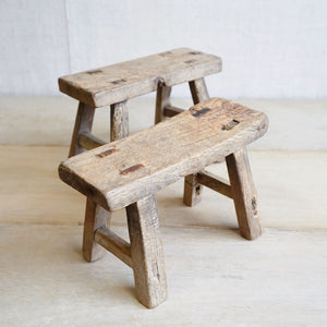 Elm Milking Stool