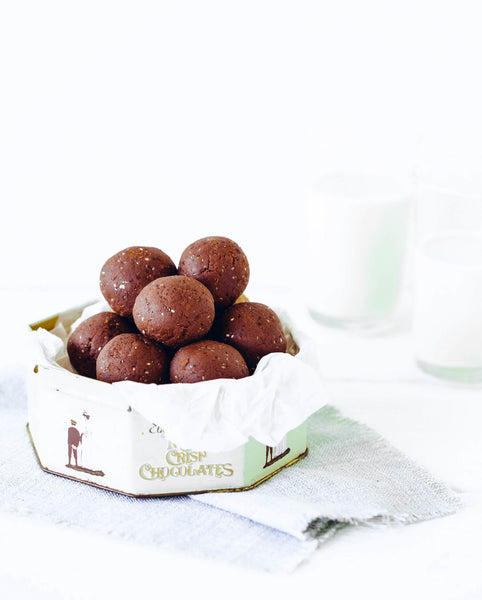 Pack of 4 | Chocolate + Chia Protein Ball Mix - Fit Mixes