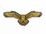 Golden Eagle Necklace