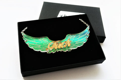 flying fuck necklace