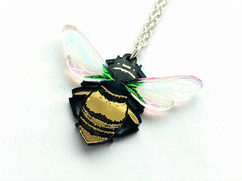 Bee pendant or Brooch.