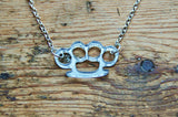 Knuckleduster Necklace