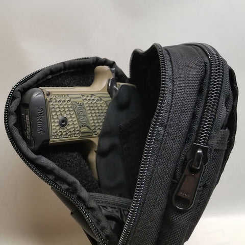 Sig Sauer P238 with Opocoo CCW Belt Pouch