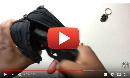 Concealed Carry Gun Bag Pouch Video Review