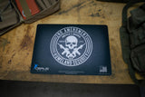SECOND AMENDMENT GUN CLEANING BENCH MAT HOMELAND SECURITY