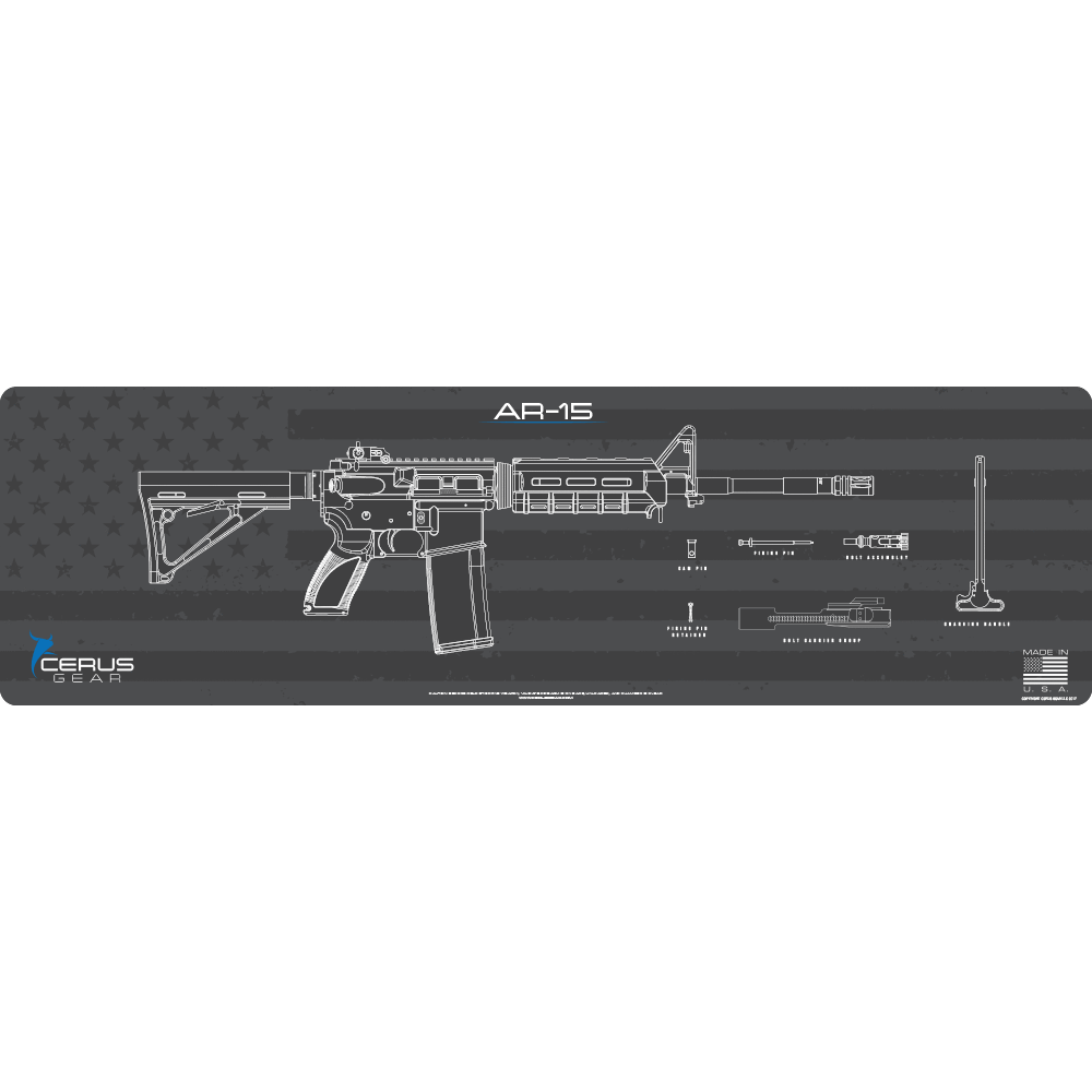 AR-15 Shadow Board Magnum XXL ProMat