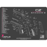 CZ® Shadow 2® Schematic Handgun ProMat