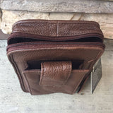 Concealed Carry Leather Belt Fanny Pack