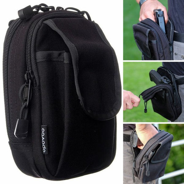 Concealed Carry Belt Gun Pouch