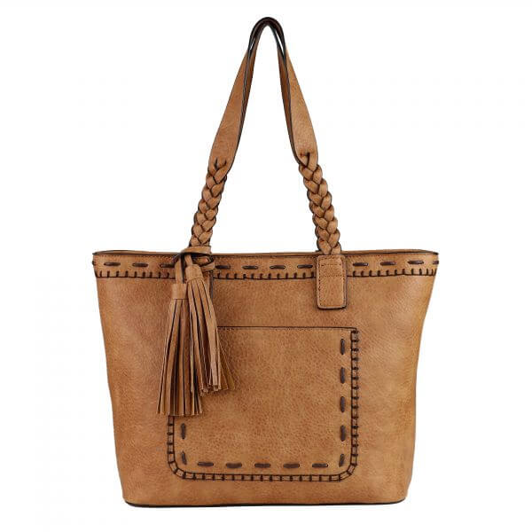 Concealed Carry Tote Cinnamon