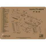 Walther® P99® Schematic ProMat