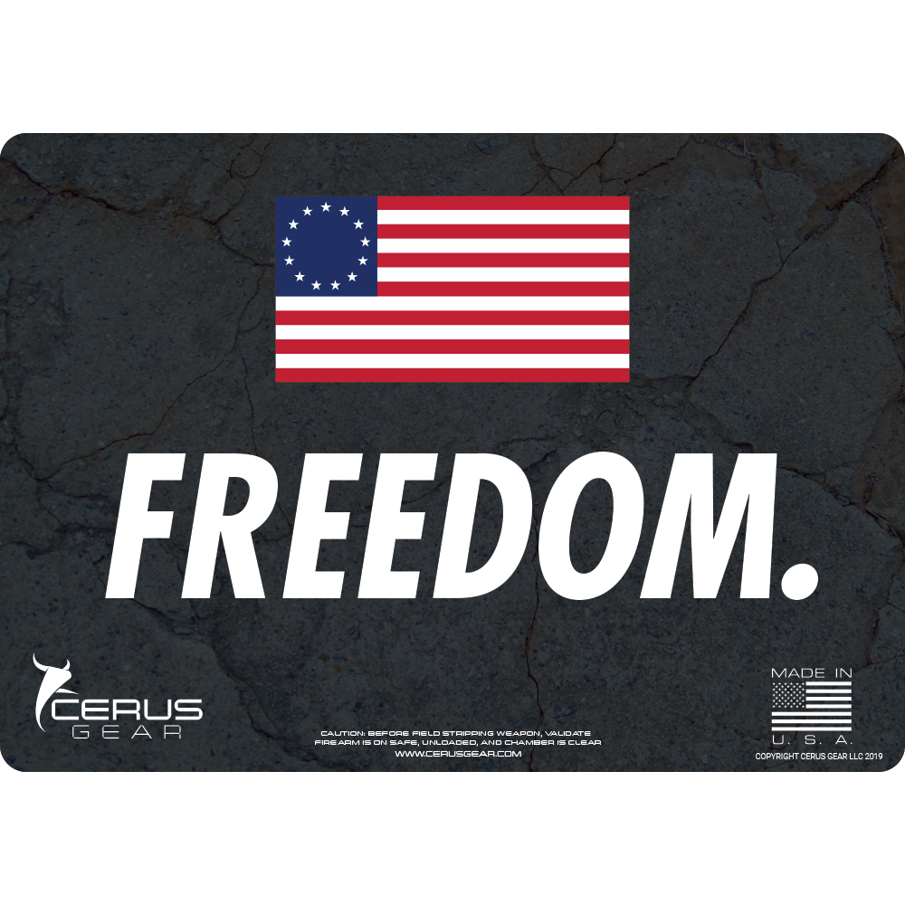 **LIMITED EDITION** FREEDOM PROMAT