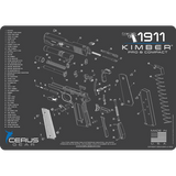KIMBER® COMPACT & PRO SCHEMATIC PROMAT