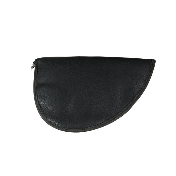 Gun Case Faux Leather Black