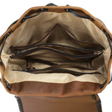 Concealed Carry Allie Full-Grain Leather Backpack