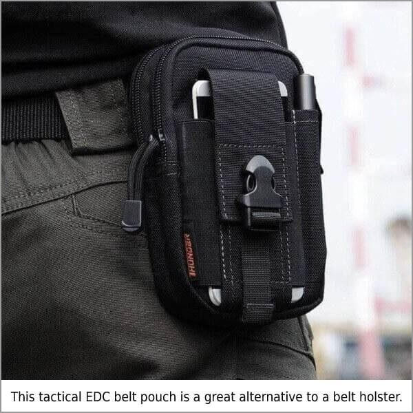 MULTI-PURPOSE EDC WAIST BAG POUCH black