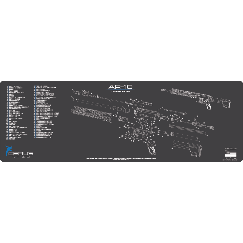 AR-10 Schematic Rifle ProMat