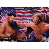 Trump vs. Kim Jong Un ProMat: Lights Out Rocketman!