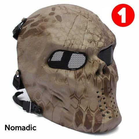 Camo Ghost Mask ★★★★★ - Opovoo Online Shop  - 1
