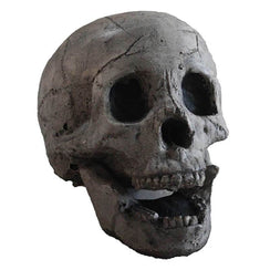 Imitation Human Skull Fire Log