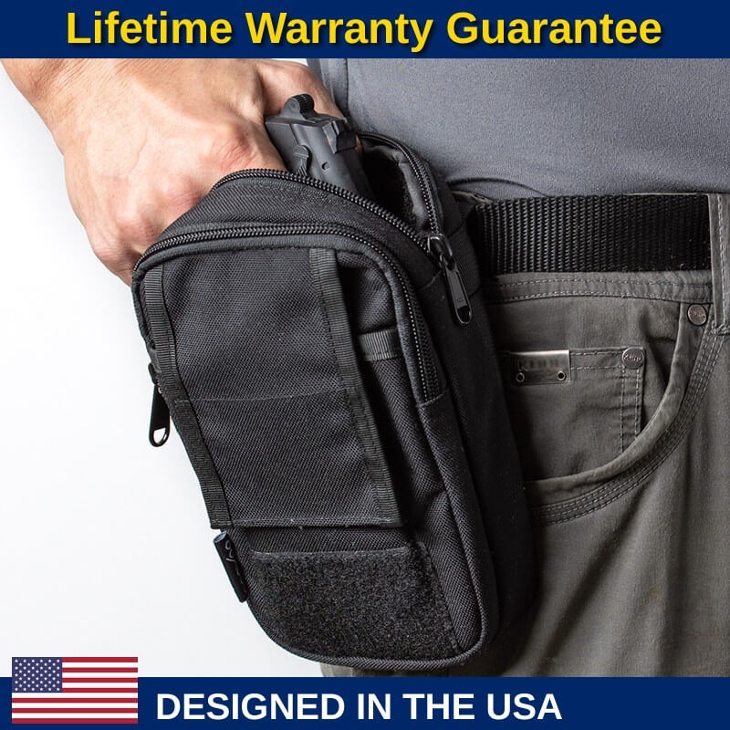 Concealed Carry Belt Pouch