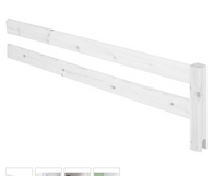 Flexa safety rails ,whitewash