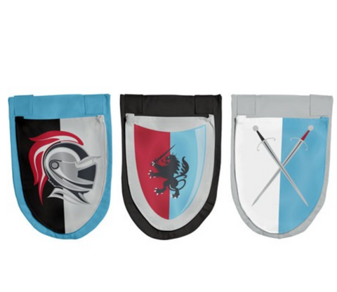 Knights bed pockets