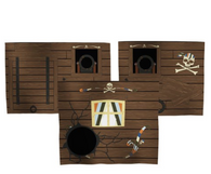 Flexa Pirates Playbed curtains