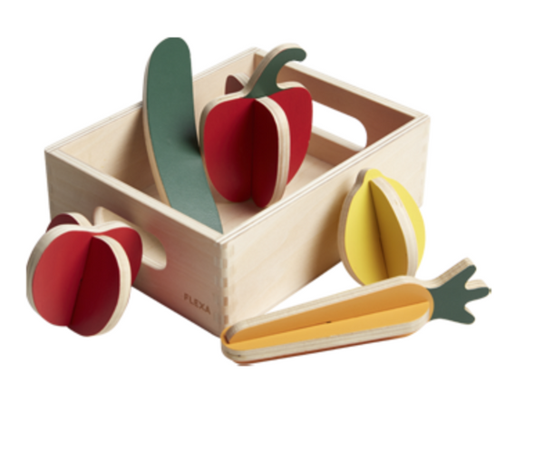 Flexa play kitchen  vegetables
