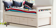 Flexa Storage-Single Bed, (3 colours)
