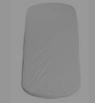 Flexa cotbed oval mattress