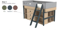 Low sleeper /storage (choice of 3 colours)