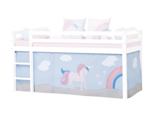 Unicorn curtain set for 70 x 190cm bunks