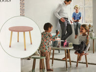 Flexa playtable and 2 stools