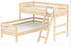 Flexa rightangle bunks (in 3 colours)