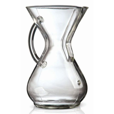 Chemex Coffee Brewer 6 cup Glass Handle