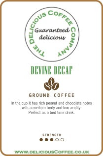 Devine Decaf Coffee
