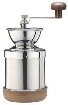 Tiamo Grinder Stainless Steel