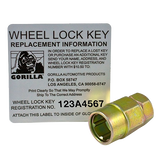 Gorilla Automotive 61681 Acorn Gorilla Guard Locks (1-2 Thread Size) - Pack of 4
