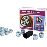 Gorilla Automotive 70783 Acorn Open End Chrome Lug Nut and Lock System